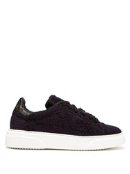 By Walid 19Th Century Panelled Low Top Trainers Indigo