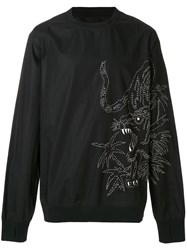 Mhi Maharishi Oversized Embroidered Sweatshirt Unavailable