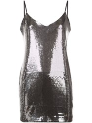 Rta Bijoux Mini Dress Silver