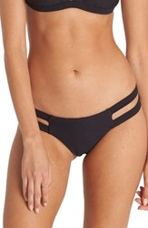 Billabong Women's Line Up Isla Strappy Bikini Bottoms