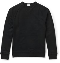 Club Monaco Slim Fit Cotton Jersey Sweatshirt Blue