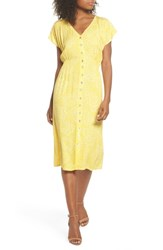Knot Sisters Lido Front Button Sheath Dress