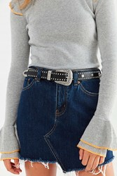 Urban Outfitters Studded Western Belt Black