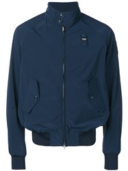 Blauer Zip Lightweight Jacket Blue