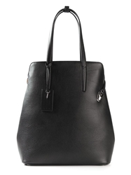 Agnona Structured Tote Black