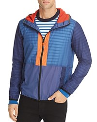 Paul Smith Ps Hooded Track Jacket 100 Exclusive Blue