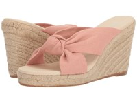 bb0b3196f1dc Soludos Knotted Wedge 90Mm Dusty Rose Wedge Shoes Pink