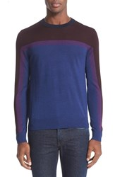 Paul Smith Men's Merino Wool And Silk Colorblock Pullover