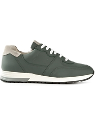 National Standard Lace Up Sneakers Green