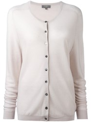 N.Peal Button Up Cardigan Nude Neutrals
