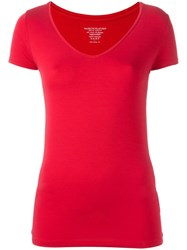 Majestic Filatures Classic T Shirt Red