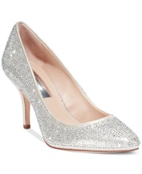 Inc International Concepts Zitah Evening Pumps Only At Macy's Women's Shoes Pearl Gold