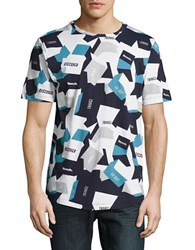 Bench Abstract Graphic Tee Total Eclipse