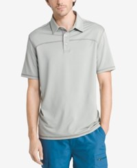 G.H. Bass And Co. Men's White Water Performance Polo Neutral Gray Heather