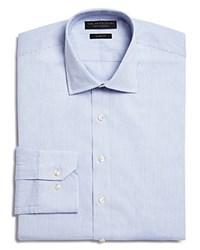 Bloomingdale's The Men's Store At Blue Dobby Slim Fit Dress Shirt 100 Exclusive