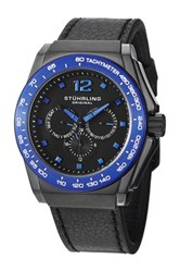 Stuhrling Men's Concorso Tonneau Multi Function Watch