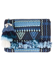 Figue 'Sangita' Zip Pouch Blue