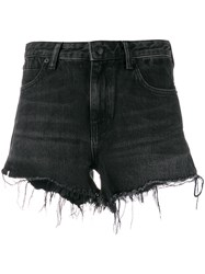 Alexander Wang T By Distressed Hem Shorts 60