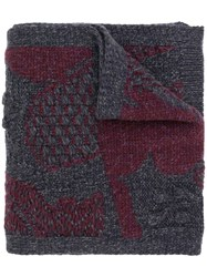 Barrie Cashmere Scarf Grey