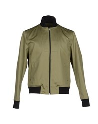 Mario Matteo Coats And Jackets Jackets Men Military Green