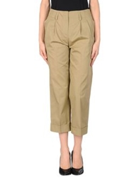 Irma Bignami 3 4 Length Shorts Military Green