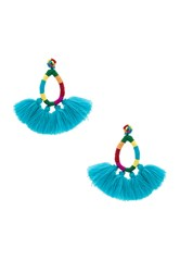 All Things Mochi The Hallu Earrings Turquoise