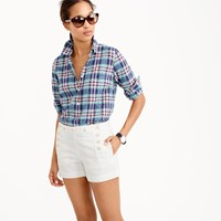 J.Crew Classic Popover Shirt In Vintage Plaid