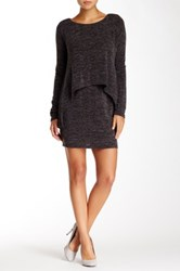 Gracia Long Sleeve Layered Dress