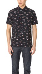 Paul Smith Tailored Fit Shirt With Dancing People Print