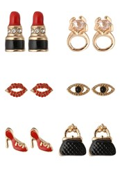 Aldo Umerin Earrings Red