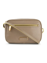 Marc By Marc Jacobs Logo Plaque Cross Body Bag Nude And Neutrals