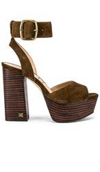 Sam Edelman Rain Sandal In Brown. Hazelnut