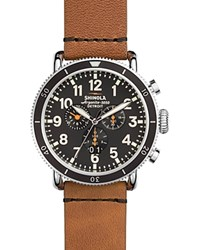 Shinola The Runwell Sport Chronograph Watch 48Mm Black