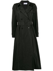 Red Valentino Shell Trench Coat 60