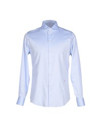 People Shirts Shirts Men Sky Blue