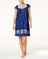 Charter Club Lace Trimmed Border Print Nightgown Only At Macy's Posies Border