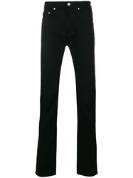 Paul Smith Ps By Flared Mid Rise Jeans Black