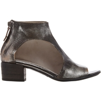 Marsell Cutout Back Zip Ankle Boots Dark Gray