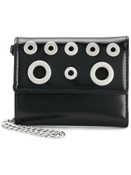Diesel Eyelets Card Case Black