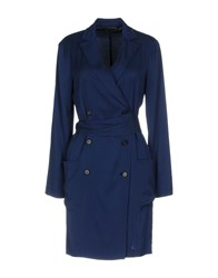 Tonello Overcoats Dark Blue