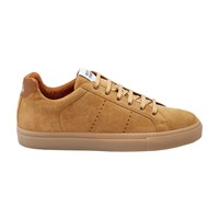 National Standard Edition 4 Trainers Cognac Suede