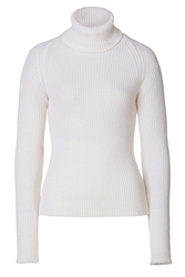 Anthony Vaccarello Cashmere Mohair Turtleneck Pullover