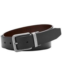 Fossil Men's Marshall Reversible Leather Belt Black Brown
