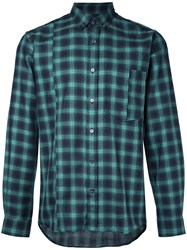 Public School Checked Shirt Green