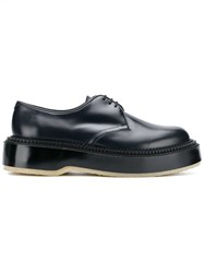Undercover Platform Oxford Shoes Blue