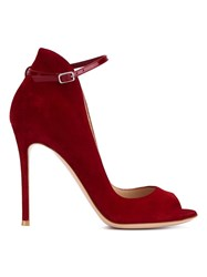 Gianvito Rossi Ankle Strap Sandals Red