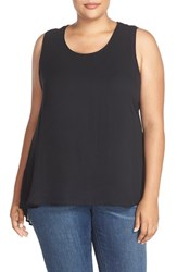 Plus Size Women's Melissa Mccarthy Seven7 Pleat Back High Low Tank