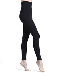 Donna Karan Luxe Layer Leggings Basic Black Black Med Tall