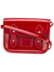 The Cambridge Satchel Company Tiny Crossbody Red