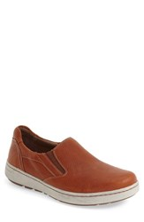 Dansko Men's 'Viktor' Water Resistant Slip On Sneaker Russet Full Grain Leather